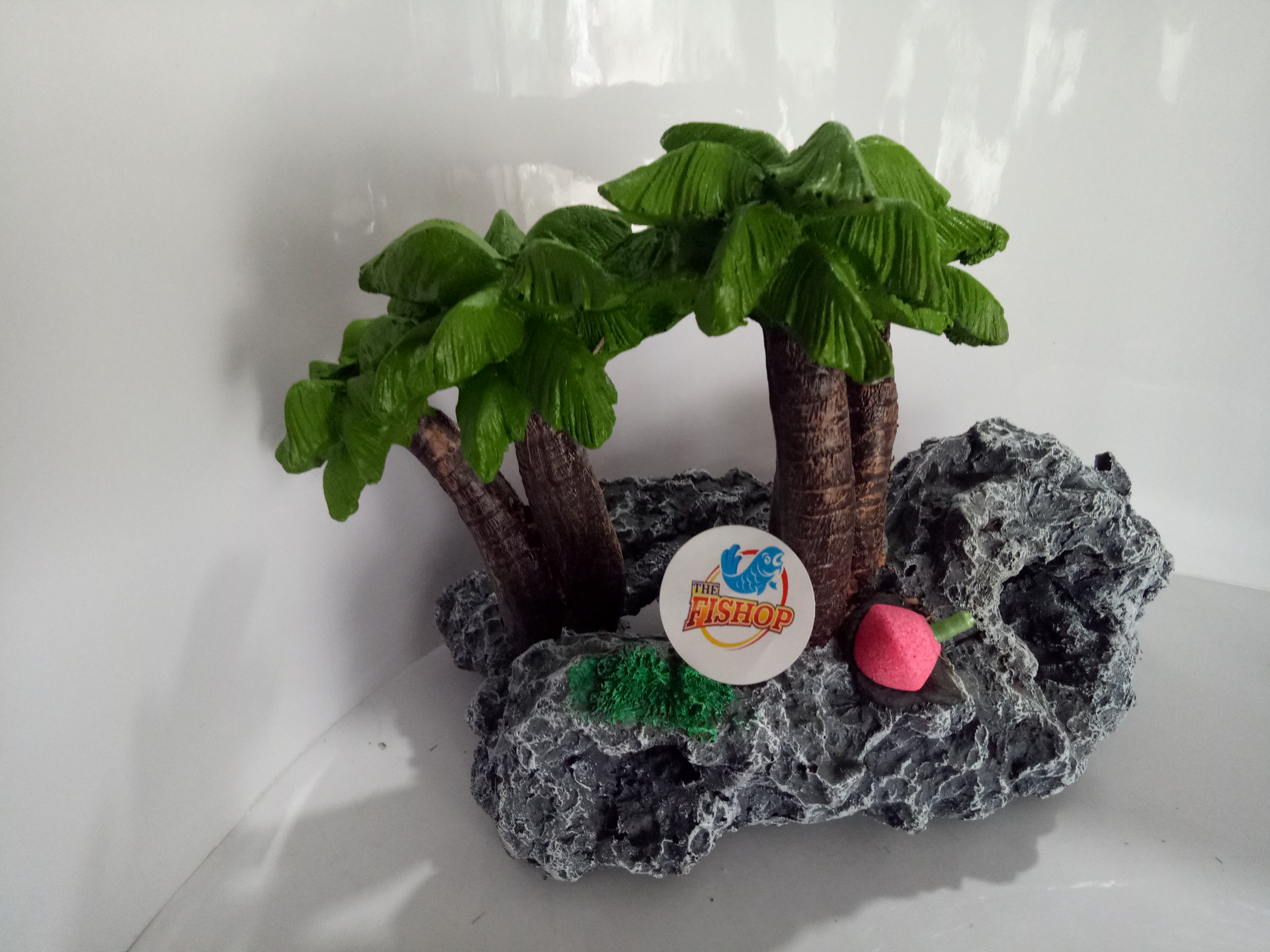 Artificial plant for aquarium fish tank toy the fishop for Toy fish tank